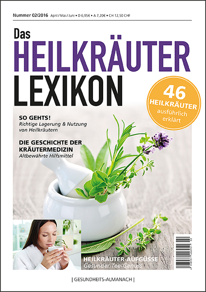 gesundheits almanach 02 2016 heilkr uter lexikon marvi verlag. Black Bedroom Furniture Sets. Home Design Ideas